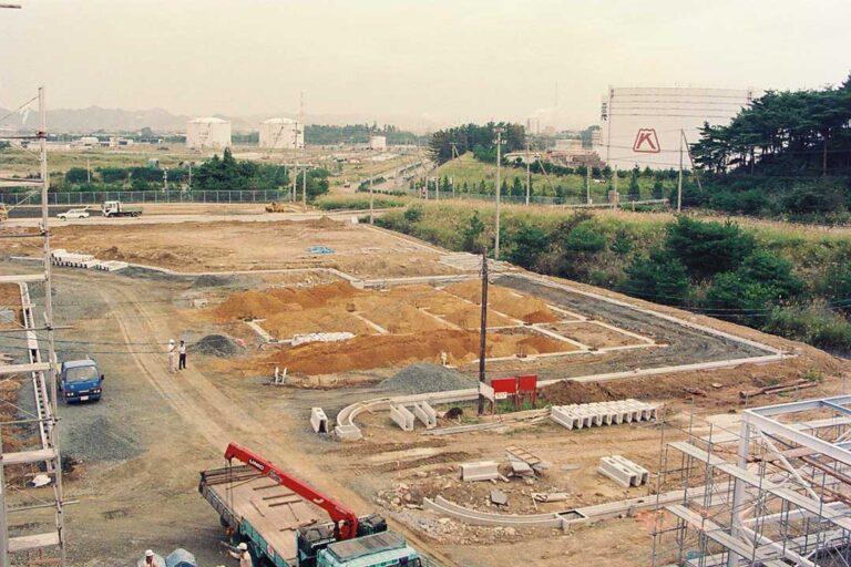04-小名浜工場建設中